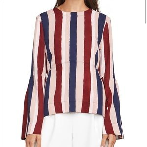 BCBG Bell sleeve top